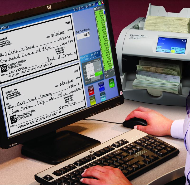 Businesses prefer scanned checks over paper copies.