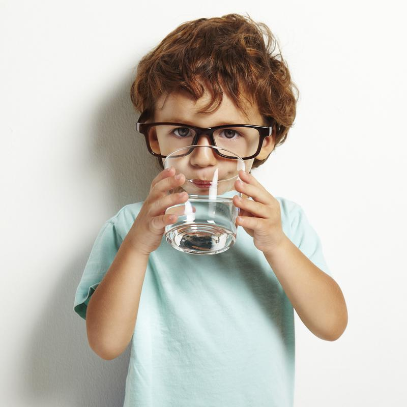 Encourage your child to drink water to avoid dehydration.