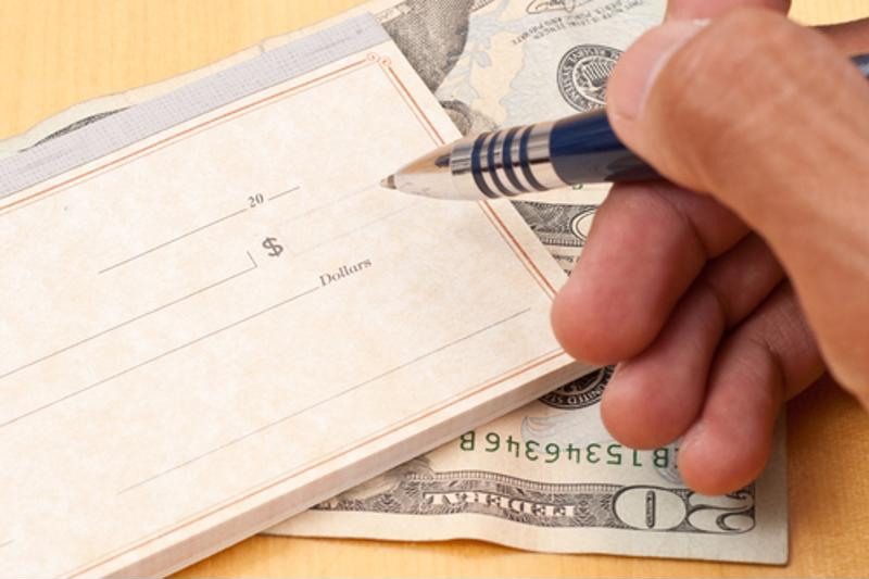 Writing checks just as time-consuming as it is an error-prone process.