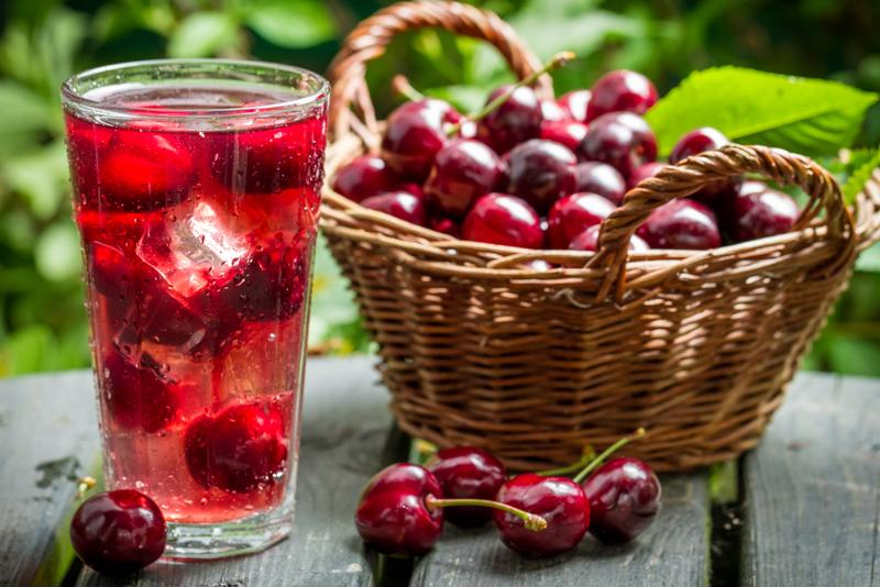 Use fresh cherries in your drink for a seasonal flavor burst.