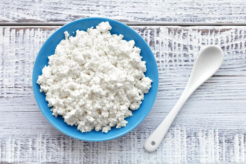 Cottage cheese has plenty of protein.