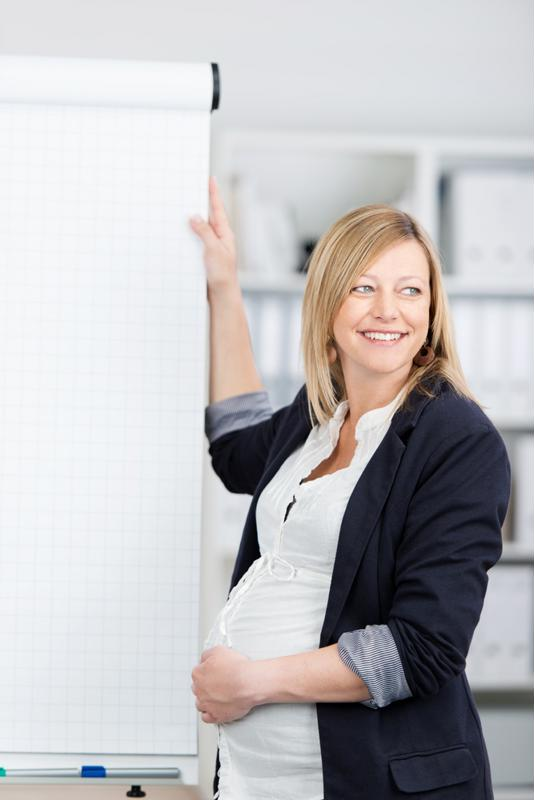 Plan as much as possible during your pregnancy for a smoother transition post-maternity leave.