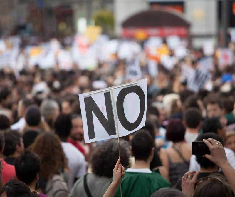 Hacktivism allows protesters to take their causes online.