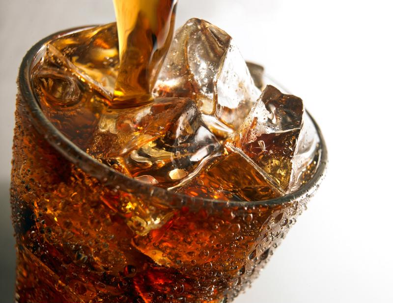 Add soda to your coffee for an extra sweet treat.
