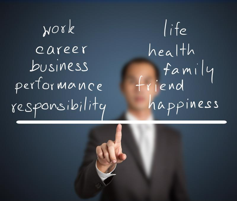 Work-life balance is often more important than salary.
