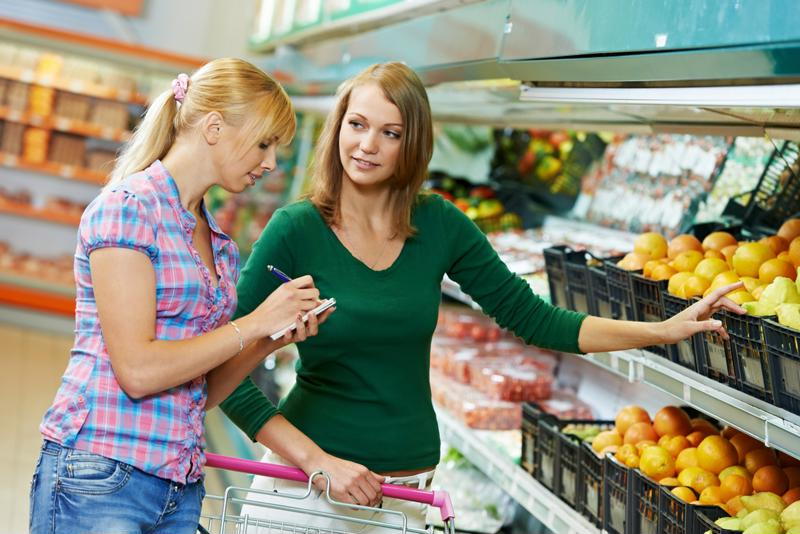 Reducing food waste starts with smart shopping. Make a list and stick to it!