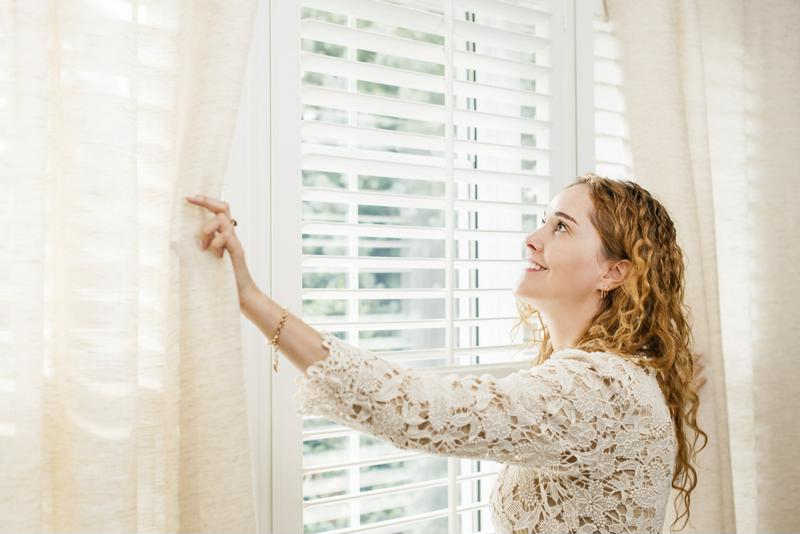 Talk to your designer about the blinds, curtains and window accessories you want to use.