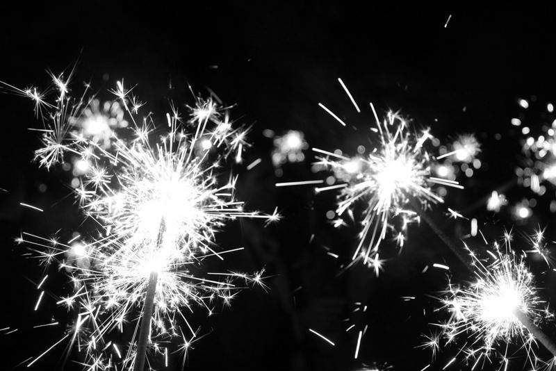 Sparklers can be fun, but they can also be dangerous.