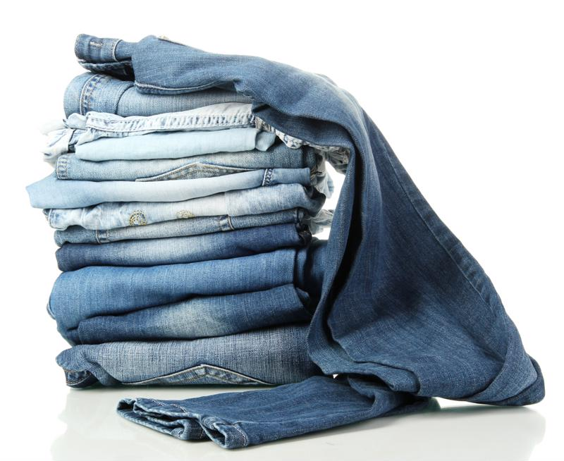 Keep all of your jeans together.