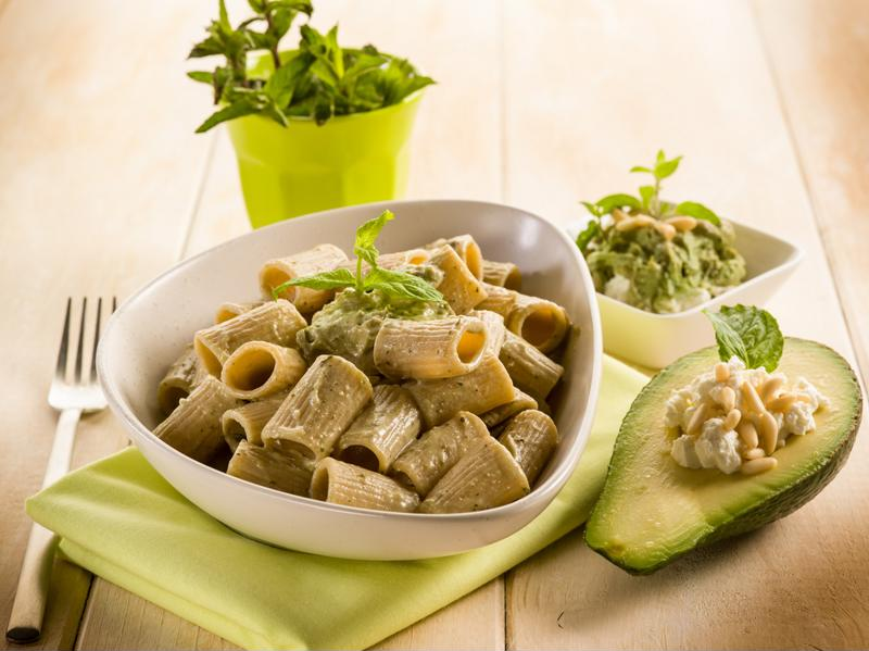 Use your homemade pesto for a pasta dinner.