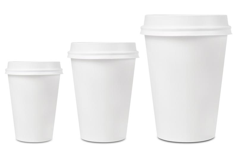 Paper cups might slightly affect your coffee's taste.