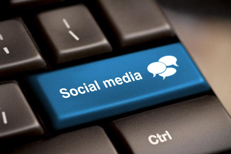 Social media marketing isn't as easy as pressing a button, but ordering print materials is that simple.