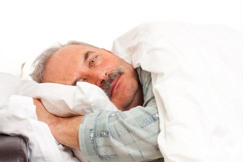 You may be having trouble getting to sleep due to your medication.