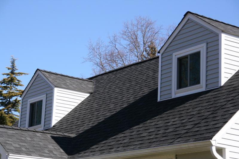 Safely investigate your roof to determine if there's been any damage.