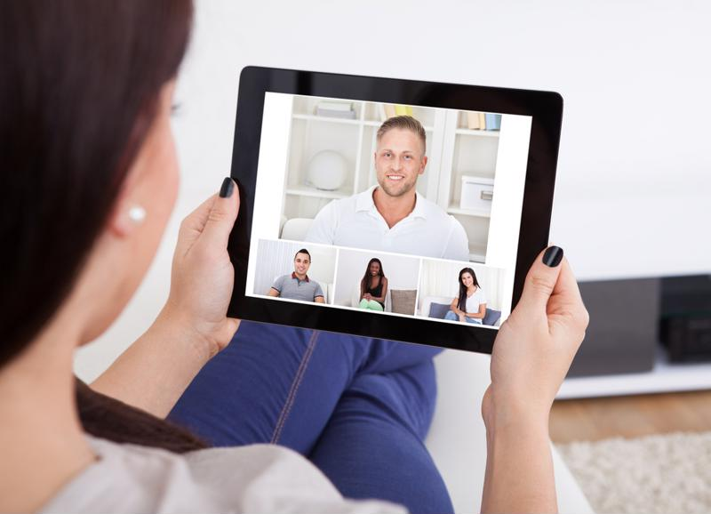 Video conferencing remains central in corporate communications.