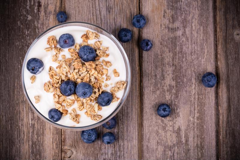 Make your own rich, creamy Greek yogurt for breakfast.