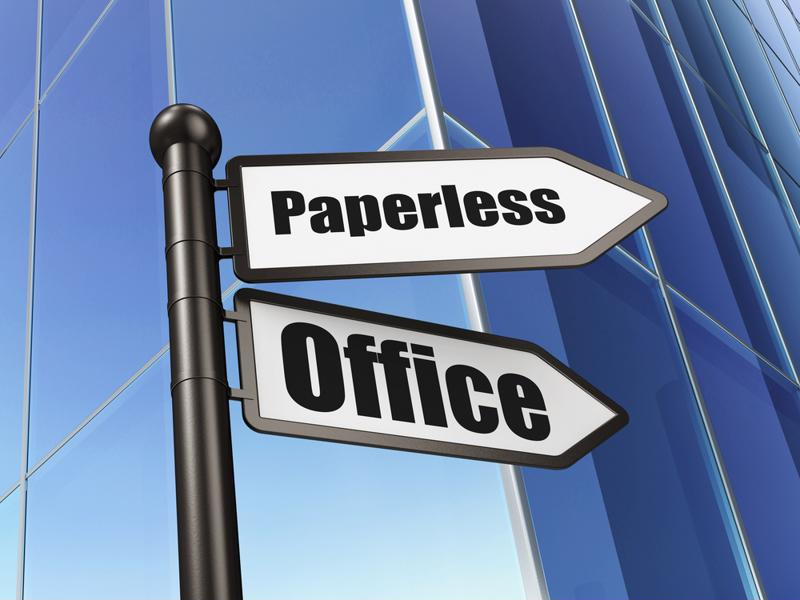 Going paperless has many operational, financial and environmental benefits.