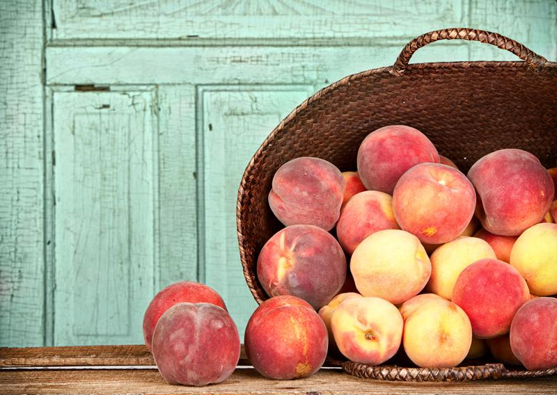 Maximize your peaches by letting them ripen.