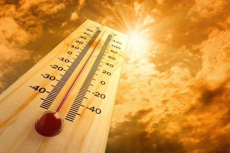 When workplace temperatures rise, employees must take extra precaution.