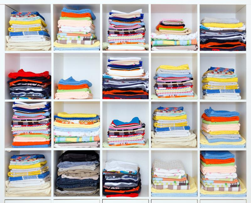 Reorganizing your closets before the start of spring will leave you feeling refreshed and squared away.