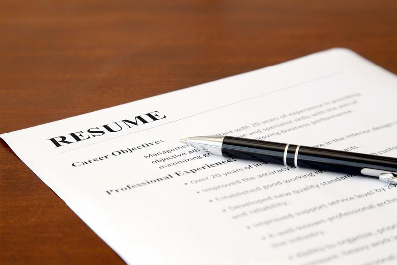 Think of your resume as a reflection of you - neat, precise and professional.