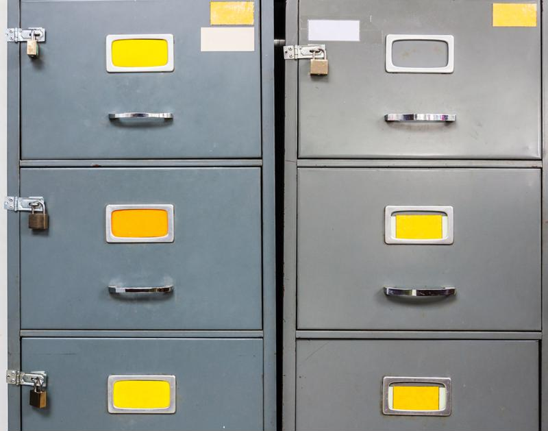 Are file cabinets cluttering your office? It might be time for a redesign.
