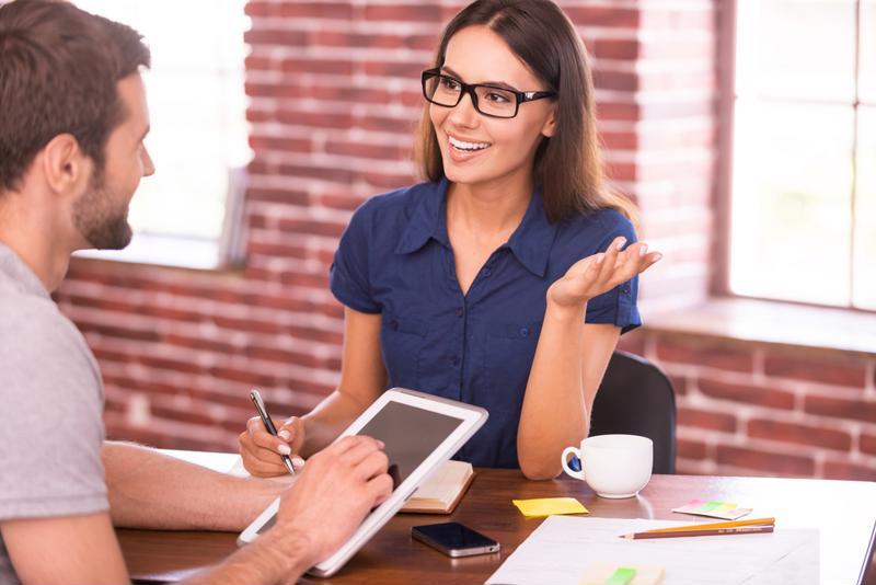 Body language communicates plenty during interviews.