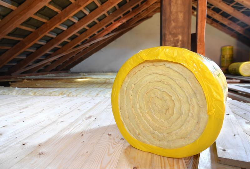 Keep your home up-to-date and warm with insulation in your attic.