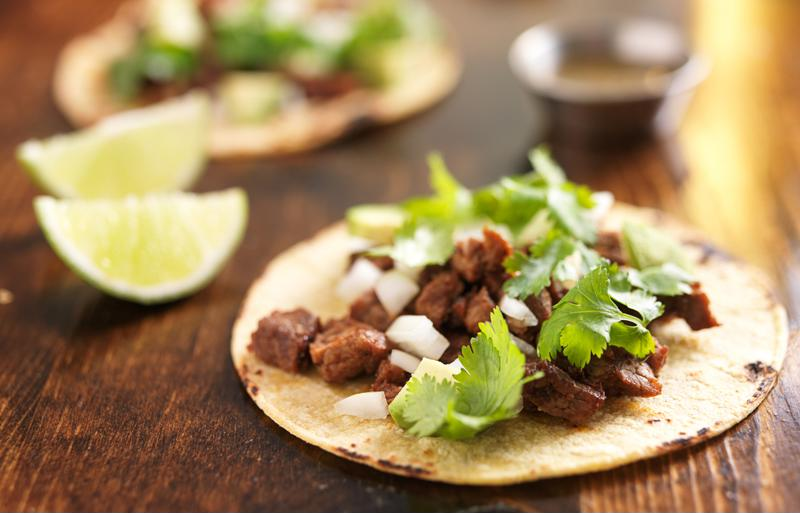 Get creative with your tacos.