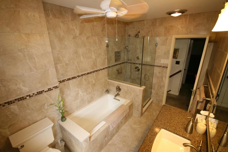 Does a master bathroom need a bathtub?