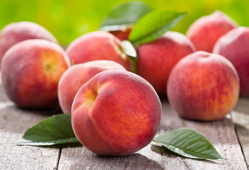 Peaches are a sweet subject for a song.