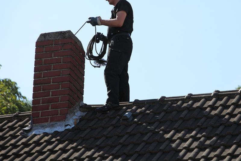 Have your chimney inspected and cleaned yearly to lower your risk of a chimney fire.