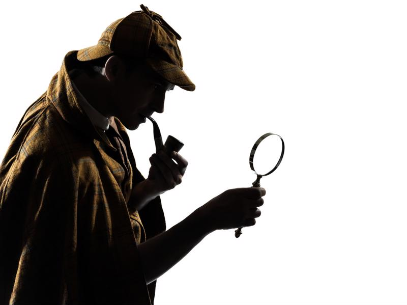 Now's your chance to live out that dream of being an amateur detective.
