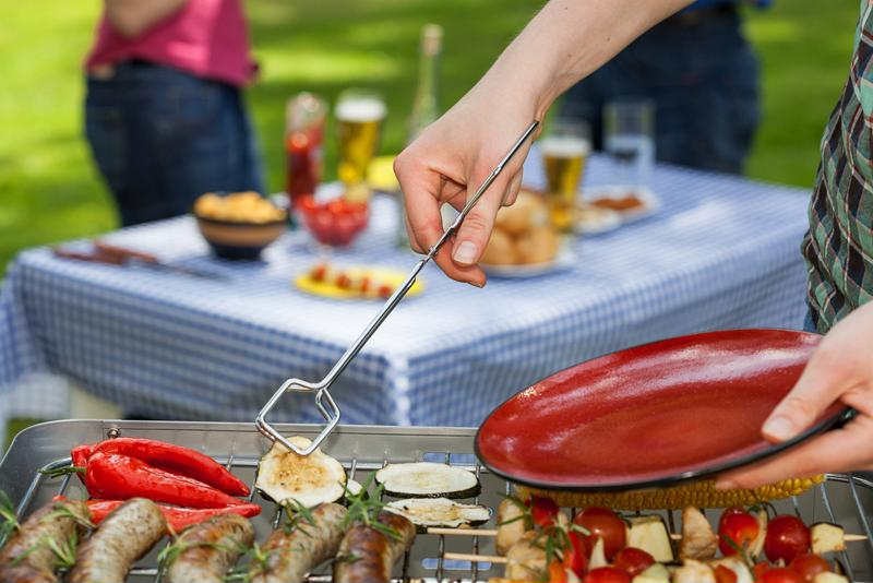 Celebrate the spring with the first barbecue of the year.
