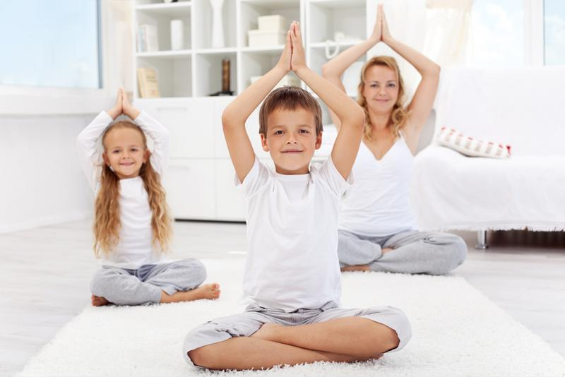 Practicing yoga can result in a sense of balance, physically and emotionally.