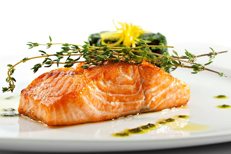 Marinating salmon has never been so simple.