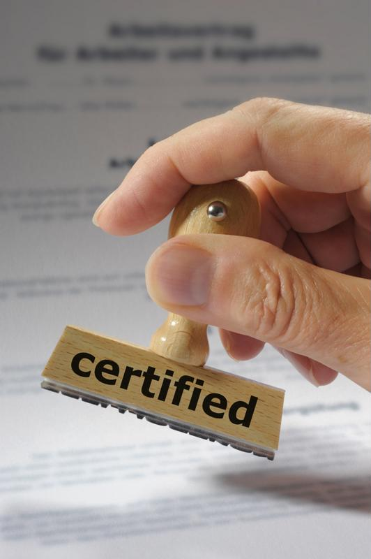 Certification is a big first step to becoming an internal auditor.