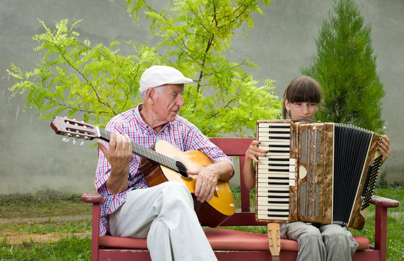 Learning how to play an instrument is a fun and engaging way for adults to stay active.