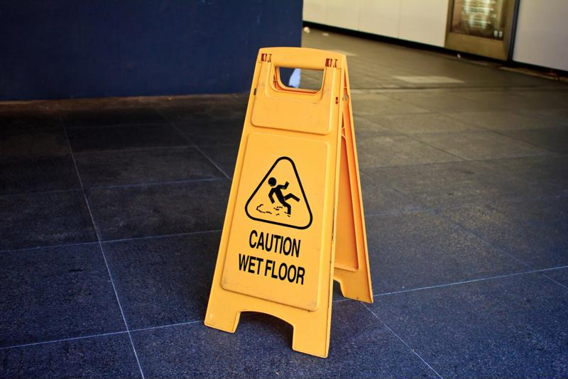 Slips and falls are among the most common workplace injury.
