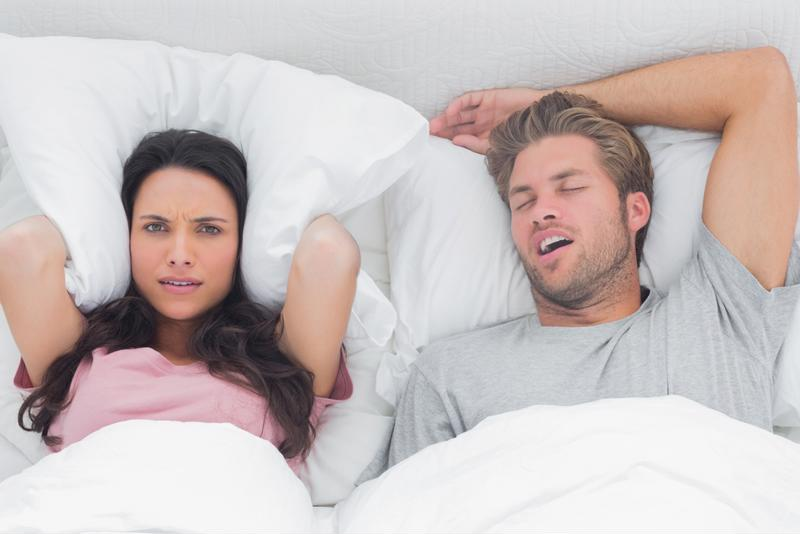 Try these tips for reducing snoring.