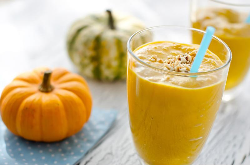 This smoothie is the perfect way to blend your fitness routine a fresh seasonal flavor.