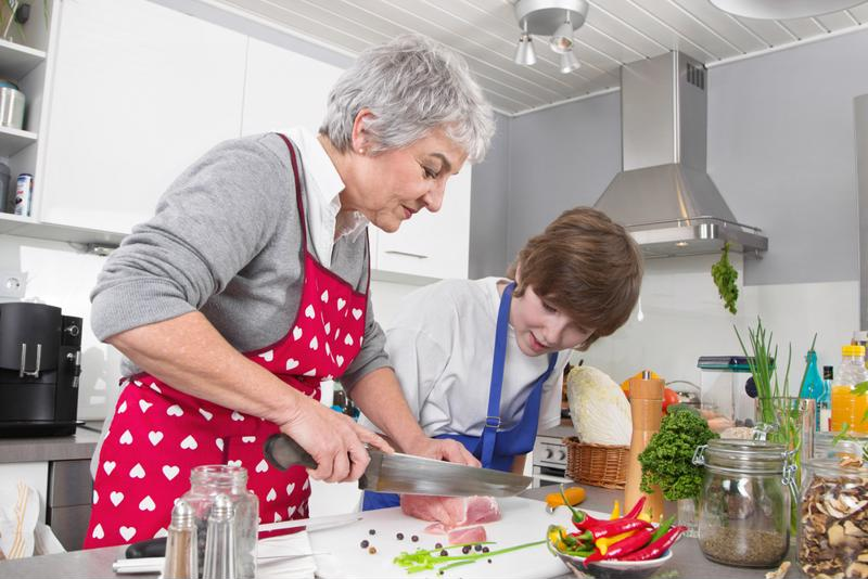 Cooking healthy foods with loved ones will serve as a good bonding opportunity and help adults to take control of their diet.