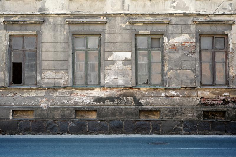 Without proper care, old buildings can fall into disrepair.