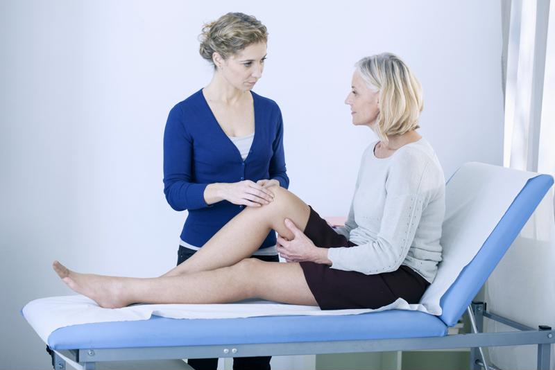 Chronic knee pain has a variety of causes.