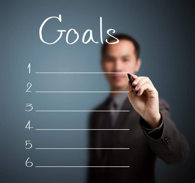 Before you set out, make a list of goals you want to reach once you start working.