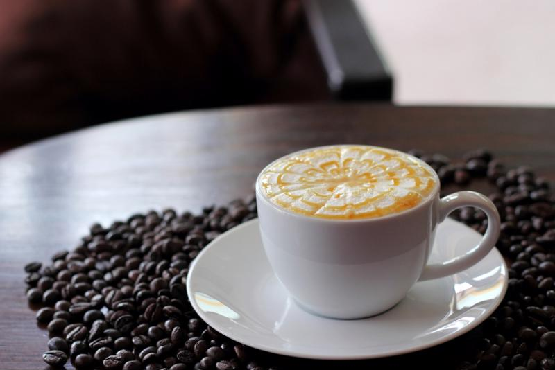 Try a low calorie vanilla latte.