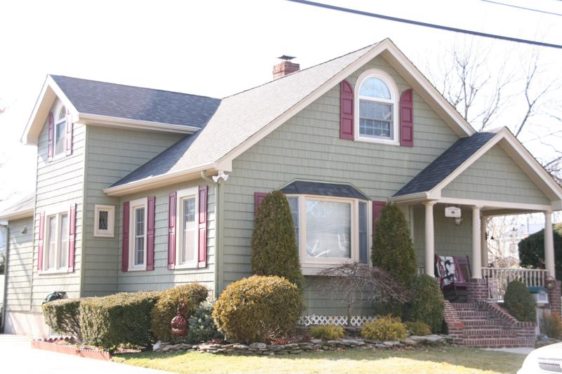Think about fading when selecting your new siding.