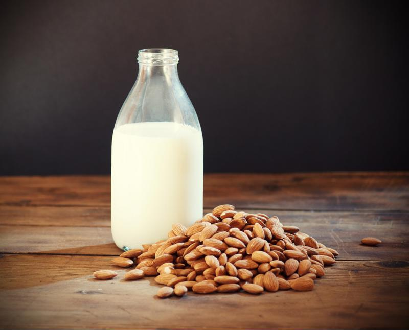 Try making your own almond milk for your smoothies.