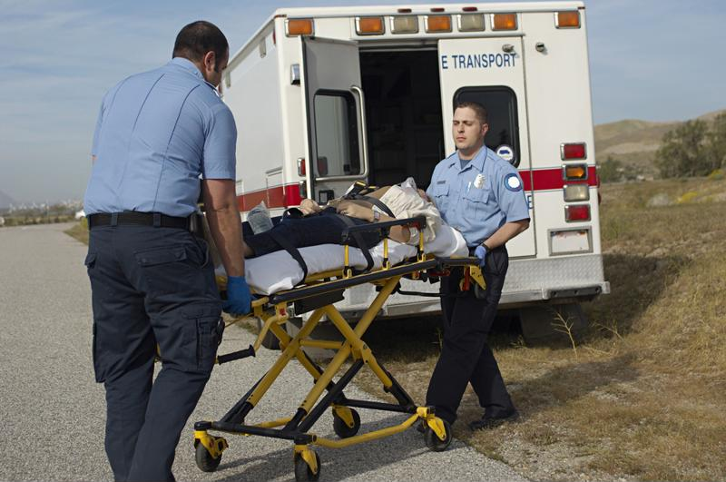 An ambulance should never contain harmful bacteria.