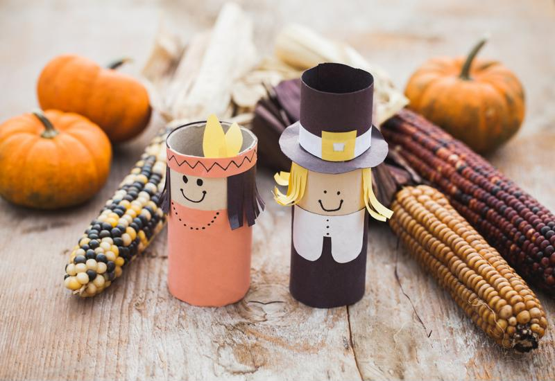 Seasonal craft projects can get young shoppers excited.